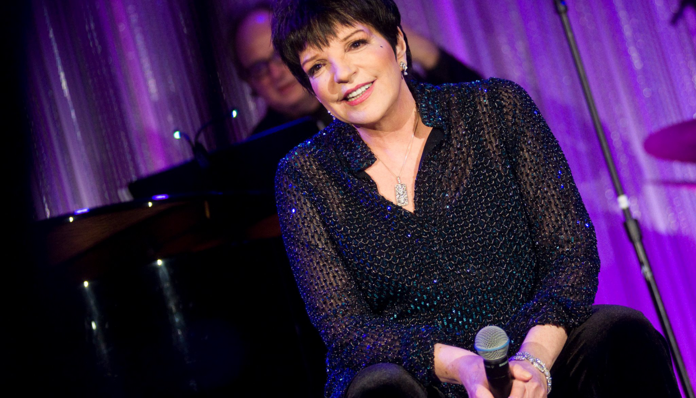 <p>Liza Minnelli performing at the DGF Gala in 2012.</p>